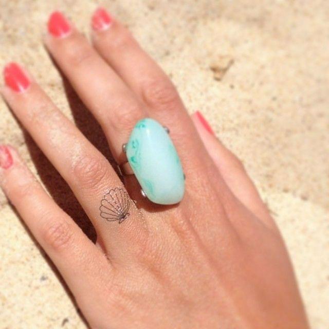 37 Unique Shell Tattoo Design Ideas