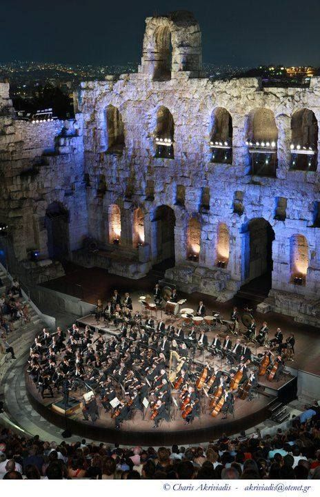 Odeon of Herodes Atticus - Athens, Greece.  Have to see whats playing there while we're in town!