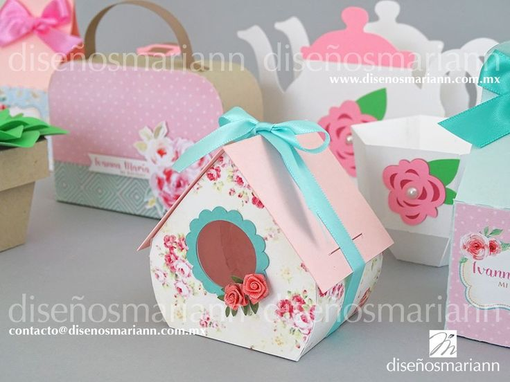 Candy Bar favors/Shabby Chic