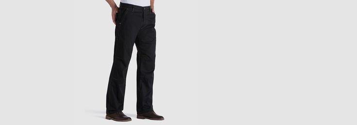 KÜHL Clothing | SLACKR™ in Men Pants Color: saw dust  Size: 36 x 34 length