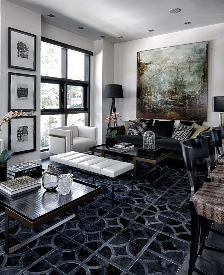 Private residence rug designed by ryan brewer kyle bunting