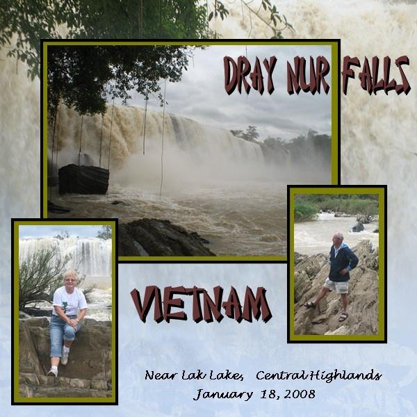 Dray Nur Falls. - Scrapbook.com