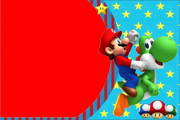 Ideas y material gratis para fiestas y celebraciones Oh My Fiesta!: Imprimibles de Super Mario Bros.