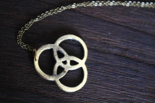 3$ silver Led Zeppelin Symbols Pendant necklace