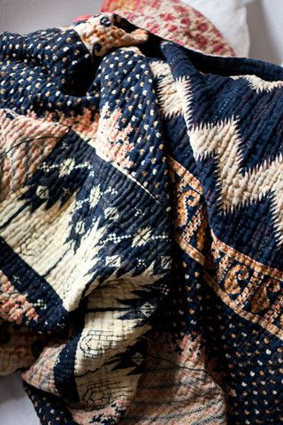 Kantha Blanket - So cozy!