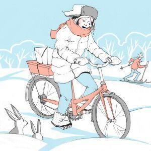 Личный опыт: Как ездить на велосипеде зимой? — Личный опыт на The Village