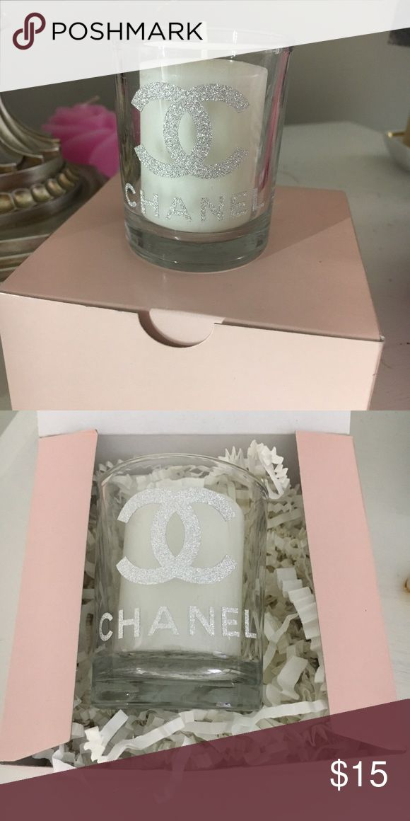 Gifts for her candle gift designer gifts You are buying an awesome 3inch Chanel candle this candle is a great gift it smells sooo wonderful!! And comes in the pink box shown!! Thanks! Jewelry Necklaces