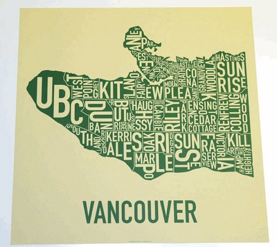 Map of Vancouver