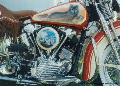 "1947 Harley Davidson Knucklehead ""Wolf"""