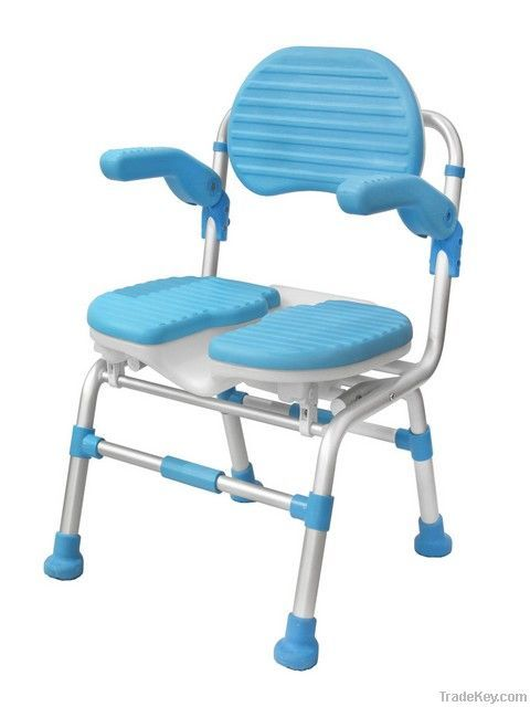 Handicap Shower Chair  #HandicapShowerChairs >> Get more tips about how to choose accessible living aids for handicapped bathrooms at http://www.disabledbathrooms.org/rolling-shower-chairs.html