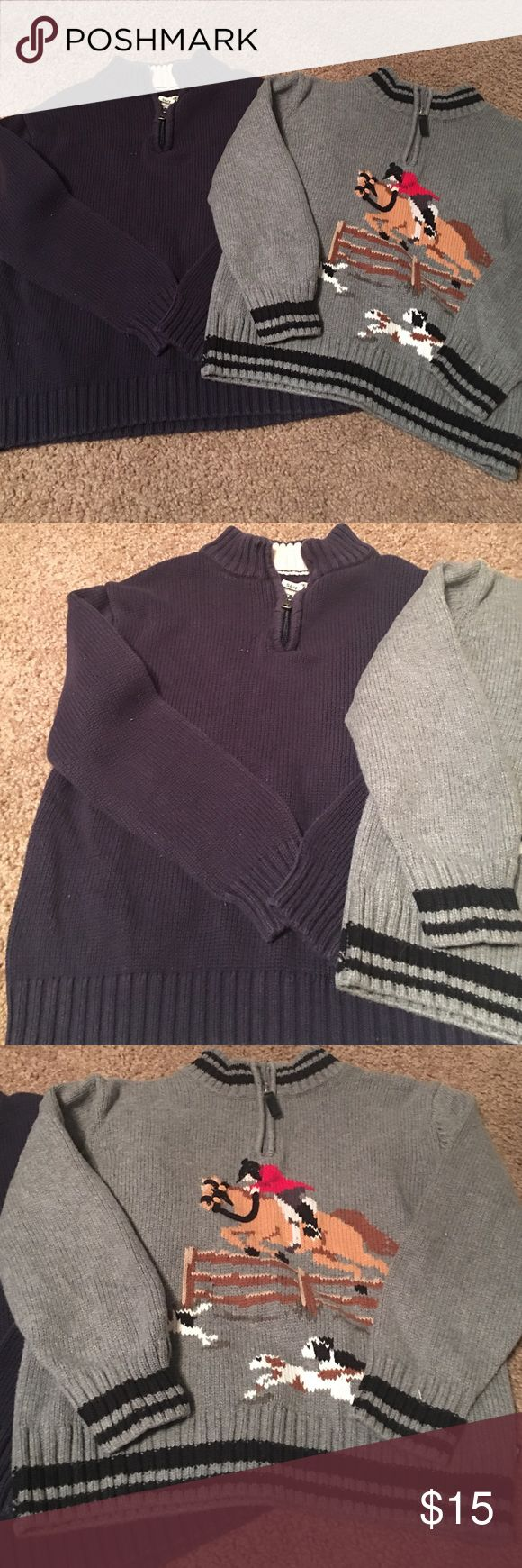 Kitestrings and Cherokee sweater lot. Boys 7 Lot of 2 sweaters. Boys Sz 7. Like new. Kitestrings and Cherokee Shirts & Tops Sweaters