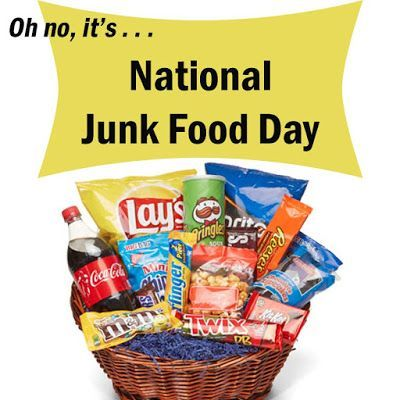 Happy National Junk+Food Day - July 21
