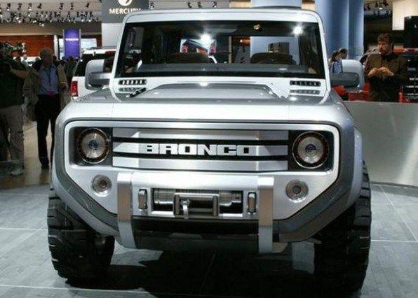 2016 ford bronco 4 door