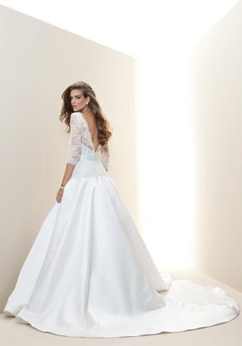 bebe | Lace 3/4 Princess Sleeve Bridal Gown - Rami Kashou - View All