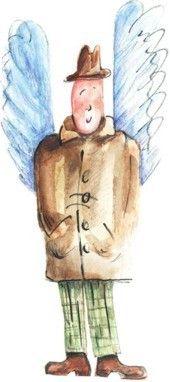 An Angel in a hat by Kamila Guzal-Pośrednik