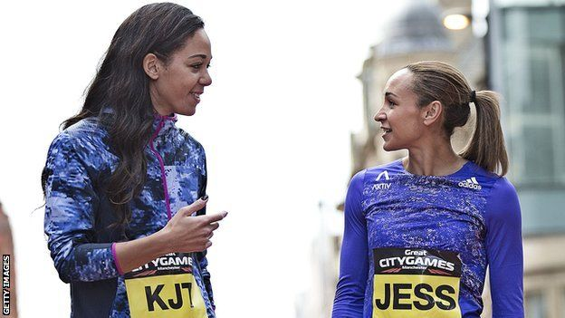 "Jessica Ennis-Hill 'not cattle prod' for Katarina Johnson-Thompson  Katarina Johnson-Thompson's coach will not use Jessica Ennis-Hill's return to athletics as a ""cattle prod"" to get the best out of his athlete"