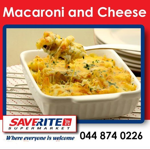 """With winter around the corner we all crave """"comfort food."""" What is your favorite winter comfort dish? Saverite Supermarket stocks all the ingredients for a lovely hot Macaroni & Cheese dish, which is always a favorite. Try out this delicious recipe for a Macaroni & Cheese dish - for full recipe read more here: http://on.fb.me/1f6V5bm. #comfortfood #macandcheese"""