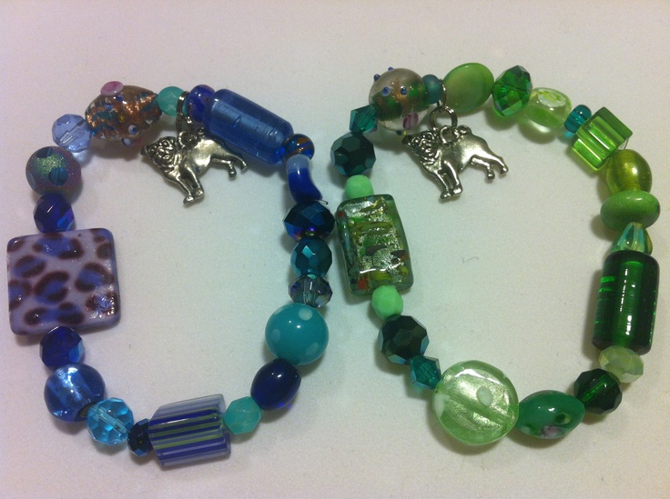 Donation to local pug rescues in USA   $15.00  https://www.etsy.com/listing/100612825/pug-rescue-beaded-charm-stretch-bracelet