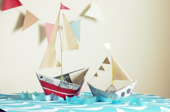 Sail Away with Me Party (Diaper Style Memoirs): This is a cute party for a boy or girl that this mom threw for just $20; lots of great ideas for decorations, activities, photo booth, and more that would work well for an under the sea theme, fishing theme, sailing party, pirate party, mermaid theme, and more!