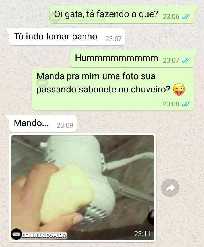 As fotos do banho ficaram otimas.exe  Foi ele quem pediu  The post As fotos do banho ficaram otimas.exe appeared first on Le Ninja.