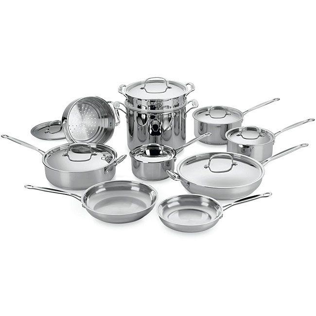 Kitchen Pc Stainless Steel Cook Set In Walmart