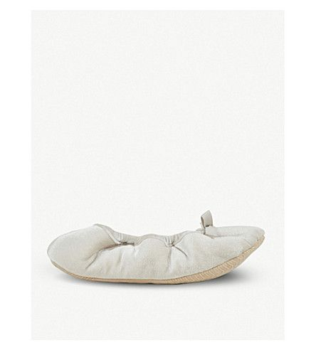 THE WHITE COMPANY | Velvet ballet slippers #Shoes #Flats #Slippers #THE WHITE COMPANY