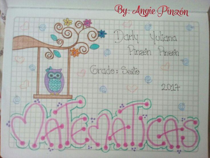 Ideas para marcar tus cuadernos.