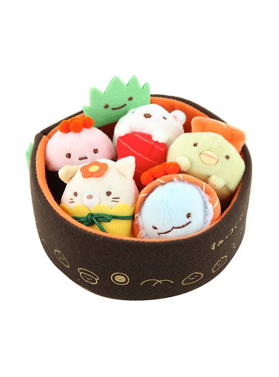 San-X Sumikko Gurashi Sushi Plush, - here is where you can find that Perfect Gift for Friends and Family Members