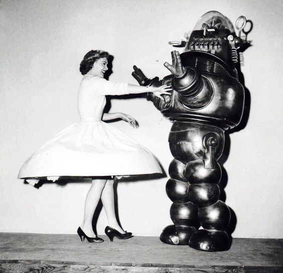 "Robby the robot in ""The Invisible Boy"""