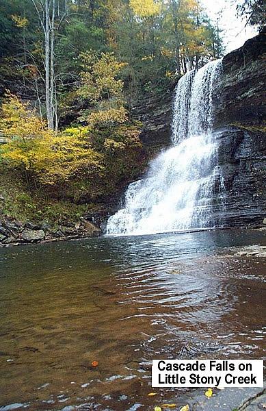 Cascade Falls on Little Stony Creek
