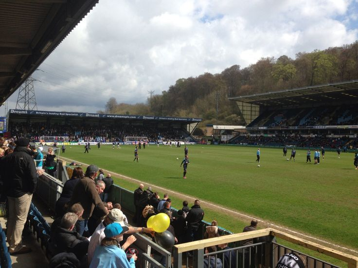 Adams Park, home of Wycombe Wanderers FC