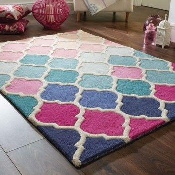 Dywan Rosella Pink/Blue, 80x150 cm | Bonami
