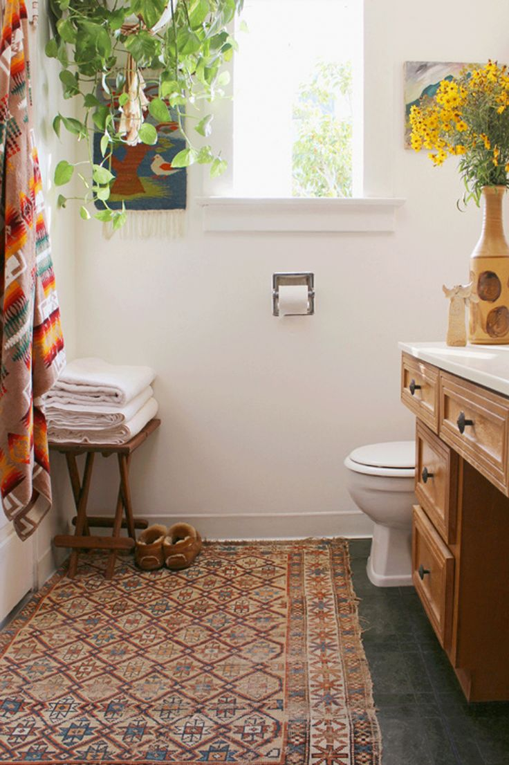 persian rugs for the bathroom
