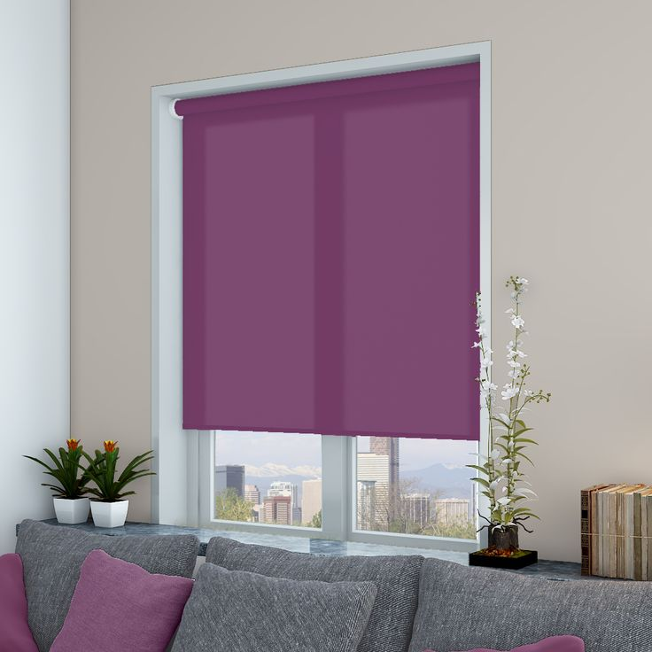 Splash Velvet Roller Blinds - Make My Blinds