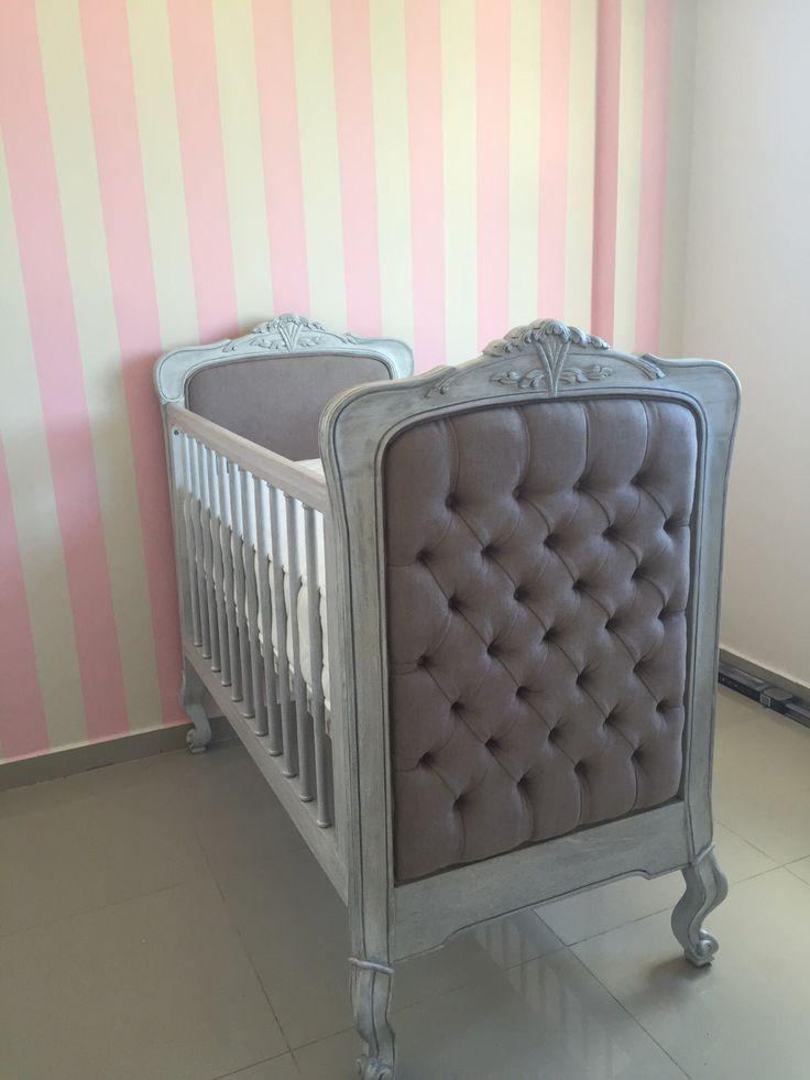 Cuna diseñada y fabricada por Matiza #nurseryroom