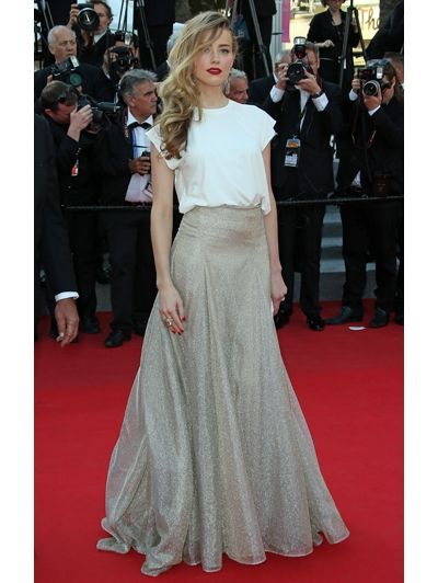 Amber Heard in Vionnet - Dé must-see foto's @ Cannes Film Festival 2014