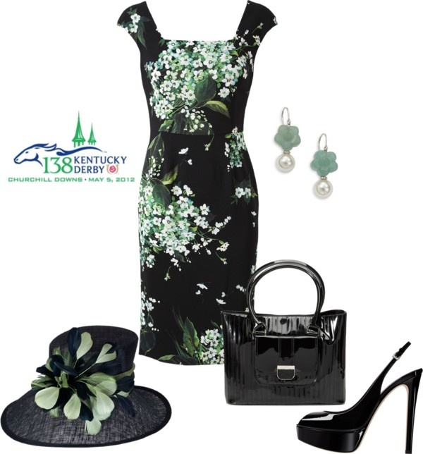 """""""Kentucky Derby"""" by dgia ❤ liked on Polyvore"""