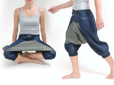 picnic pants: just in case you'd like to eat food off your pants.: Laughing, Picnics Pants, Built In, Pics Nic, Funny, Picnics Tables, Humor, Hilarious, Bad Ideas