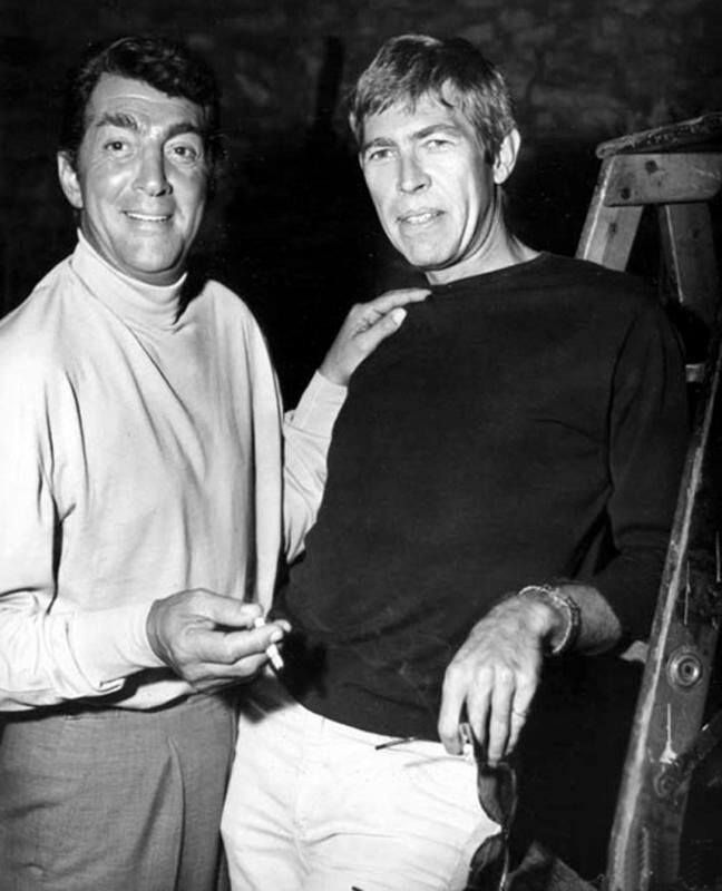 Dean Martin and James Coburn
