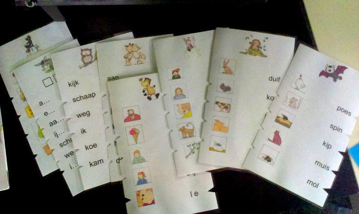Rijgkaarten (in de maak) [Leren lezen met Hup: Leessprong]