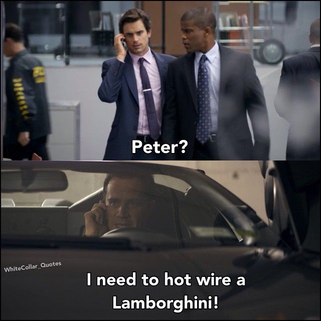 Neal and Peter <3 White Collar Quotes.