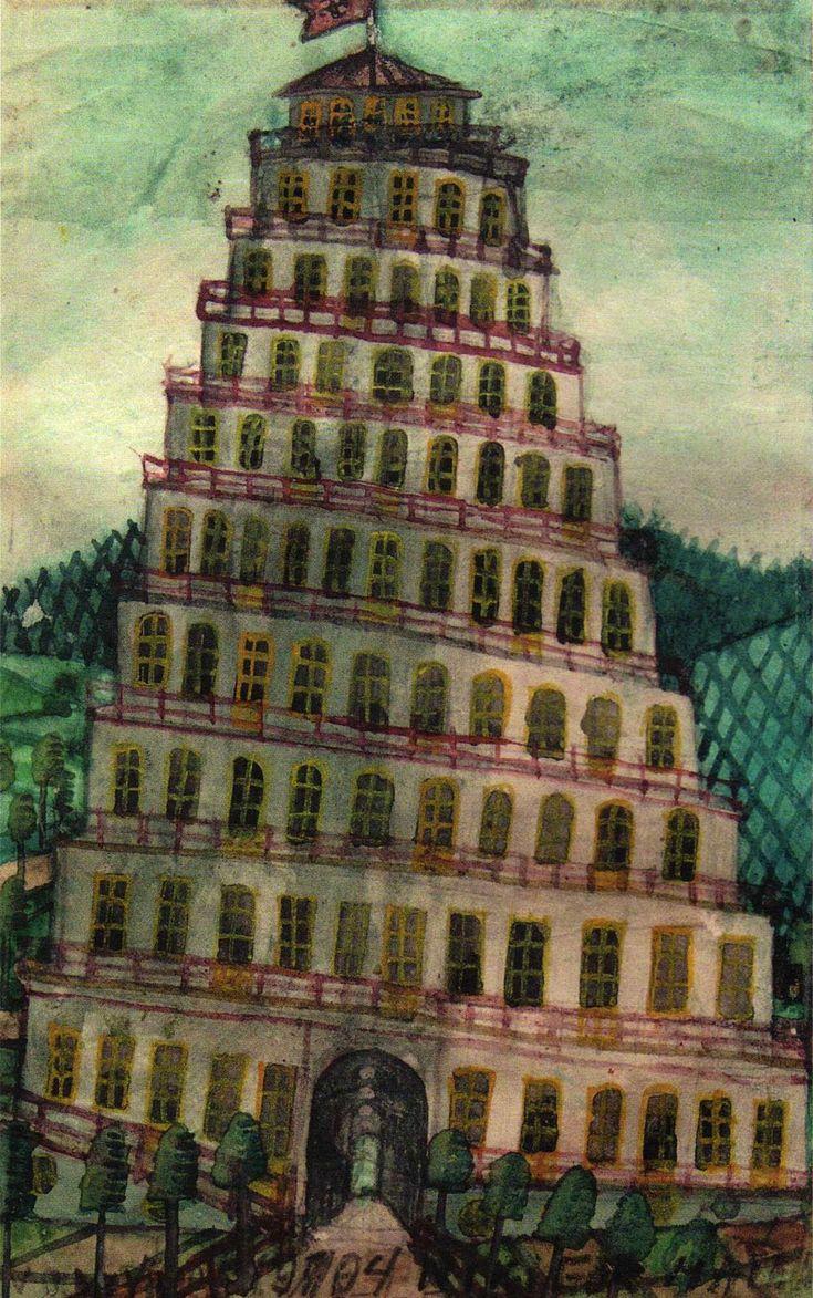 Wieza Babel Nikifor