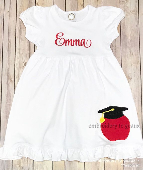 c6f37a7dd Girls Graduation Dress, Kindergarten Graduation Dress, Toddler Girls  Kindergarten Graduation Outfit, Girls Graduation Outfit