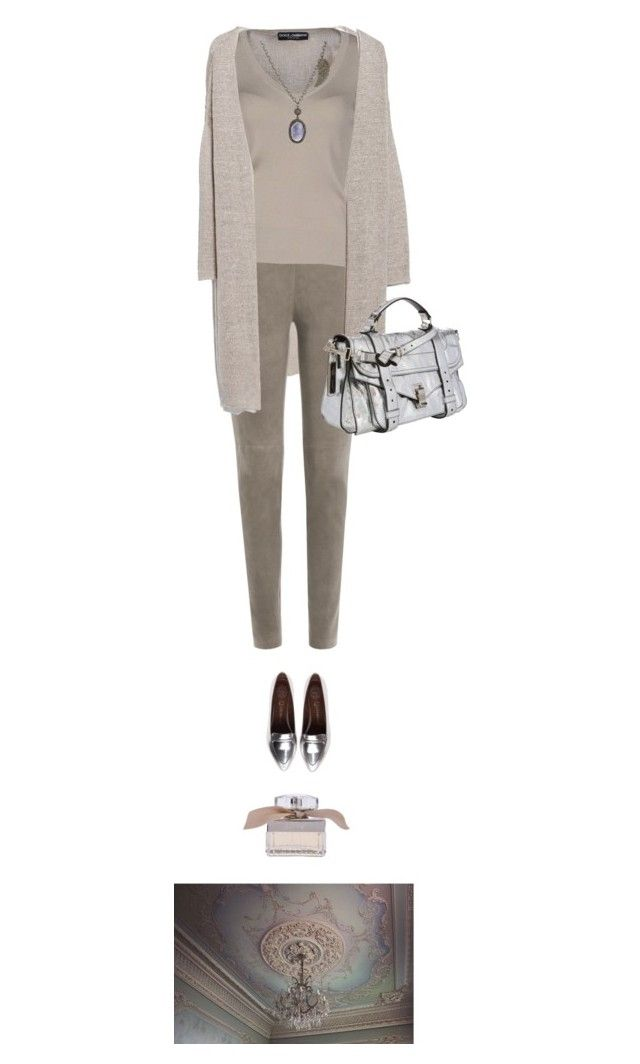 What I'm wearing today by pure-emotion-by-violetta on Polyvore featuring polyvore fashion style Dolce&Gabbana MANGO Steffen Schraut Jeffrey Campbell Proenza Schouler Carole Shashona Chloé clothing