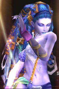 Shiva-Final Fantasy X- Yuna's summon / I really like Shiva's look. The most pretty and awesome summon.