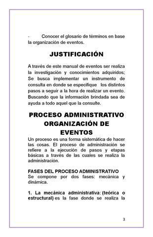 ISSUU - Manual de organizacion de eventos octubre 1 de PAOLA DIAZ