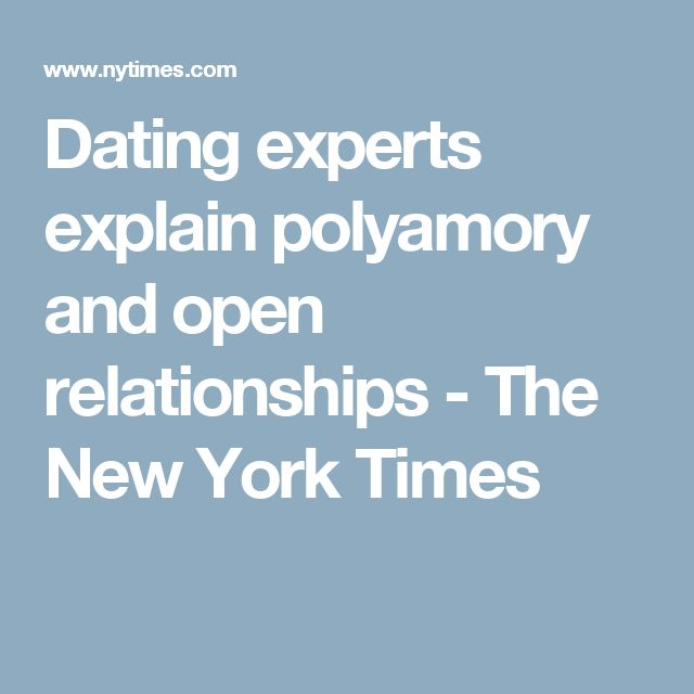 new york times polyamory
