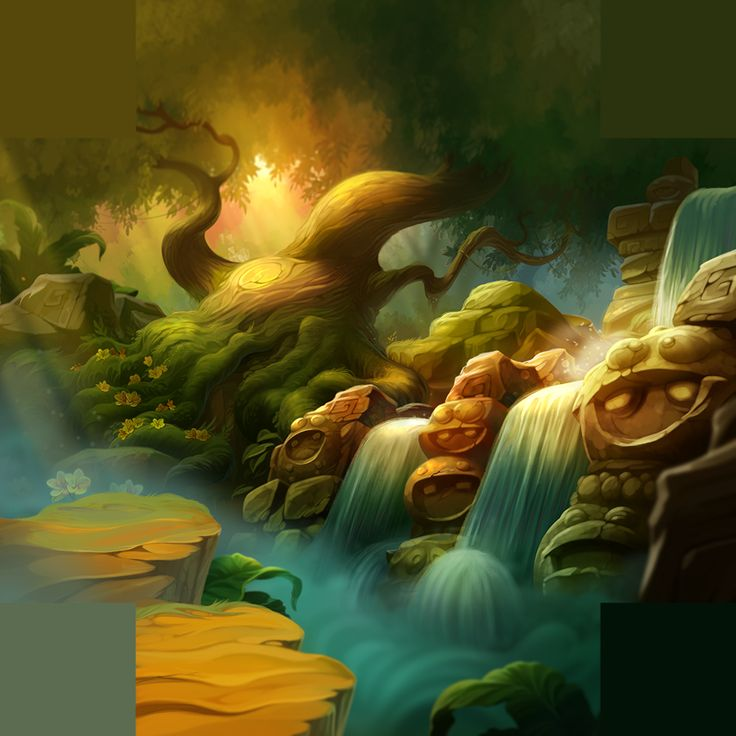 Mockup in the style/ style guide for environments and setttings. Painted and composed by me.  adapted for multiple screen resolutions and orientations. © Goodgame Studios Altigi GmbH.  All rights reserved.