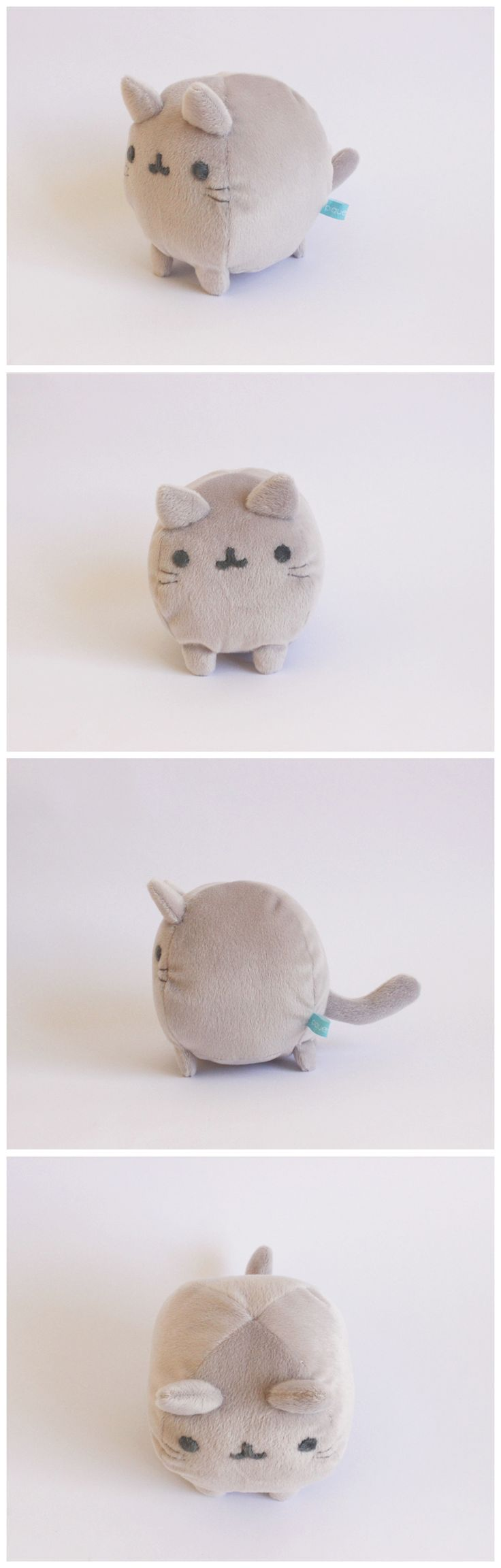 Mini gatito bola.    #handmade #toy #plush #stuffed #cat #cute #kawaii