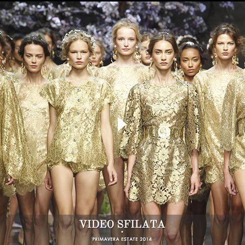 Dolce&Gabbana 2014  Anche quest'anno il grande marchio Dolce&Gabbana ha dato il meglio di se.